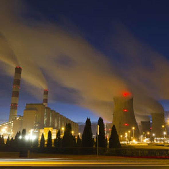 Waste CO2 Could Be Source of Extra Power