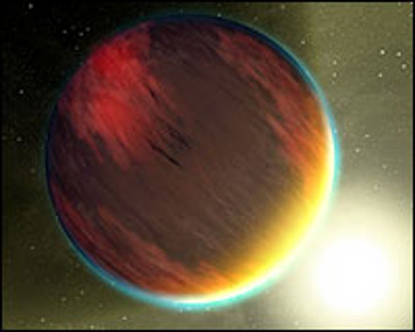 Water Mysteriously Absent from Extrasolar Planets' Atmospheres