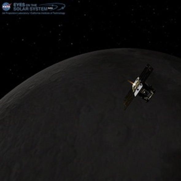 Twin Moon Probes Start New Year by Entering Lunar Orbit