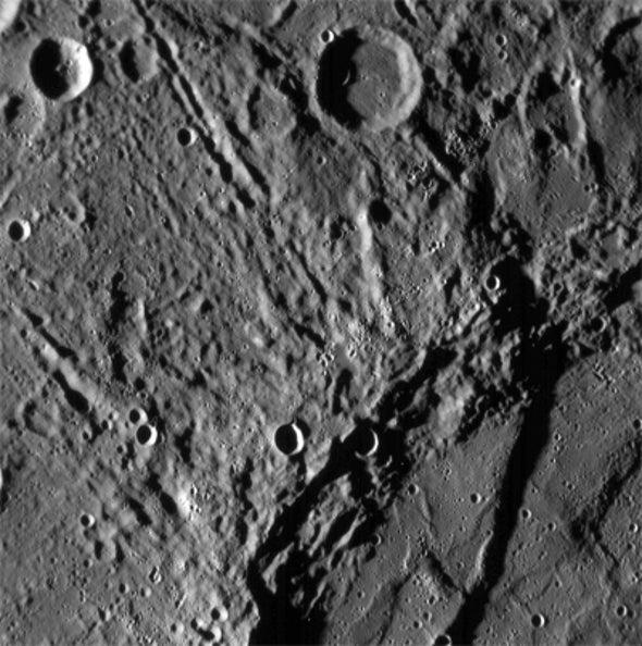 MESSENGER Buzzes Mercury