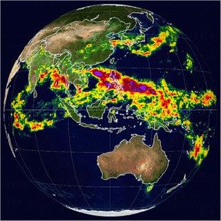 Climate Change Equals Stronger Rains