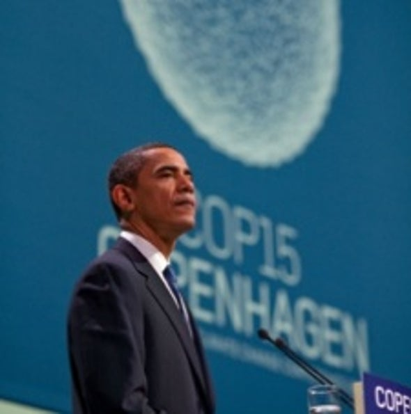U.S. Commits to Greenhouse Gas Cuts under Copenhagen Climate Accord