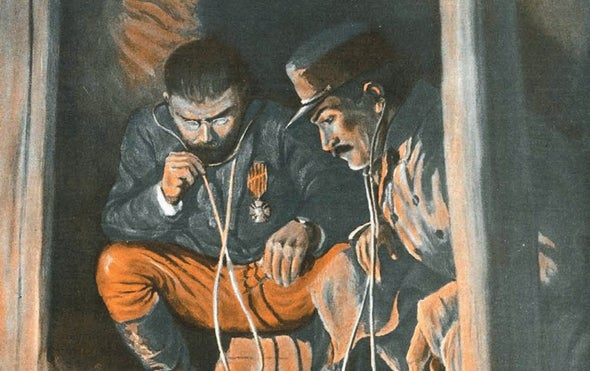 A Look at the Grim Business of Underground Warfare in 1917