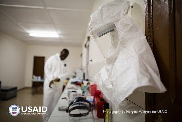 Ebola Experts Seek to Expand Testing
