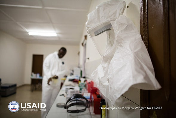 Ebola Experts Seek to Expand Testing