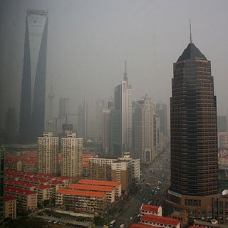 How Will the Global Economic Crisis Affect China's Pollution?