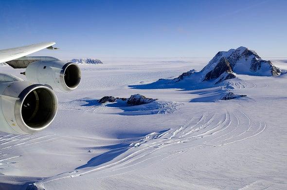 A Huge Plume of Magma Is Bulging against Antarctica