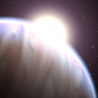 First Whiff of Methane in Extrasolar Planet's Atmosphere