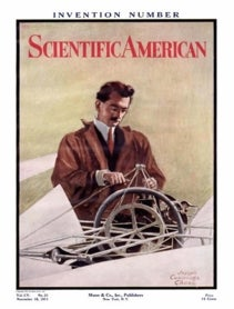 Scientific American Volume 105, Issue 21