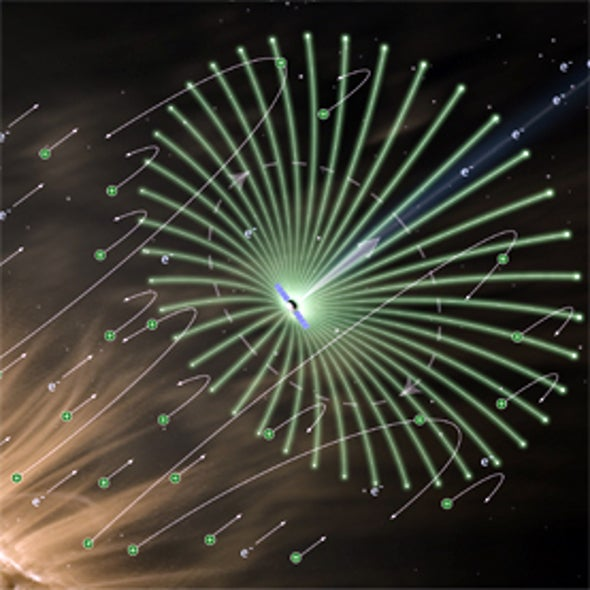 Sail E-way: Spacecraft Riding the Solar Wind on Electric-Field Sails Could Cruise at 180,000 Kph