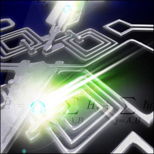 Quantum Chip Sends Information by Bus