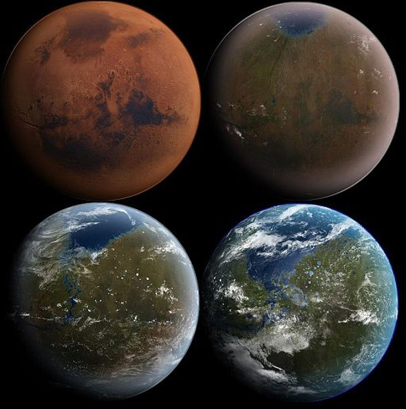 Bad News for Terraforming: Mars's Atmosphere Is Lost in Space