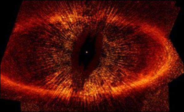 Sauron's Eye Spots Planet?