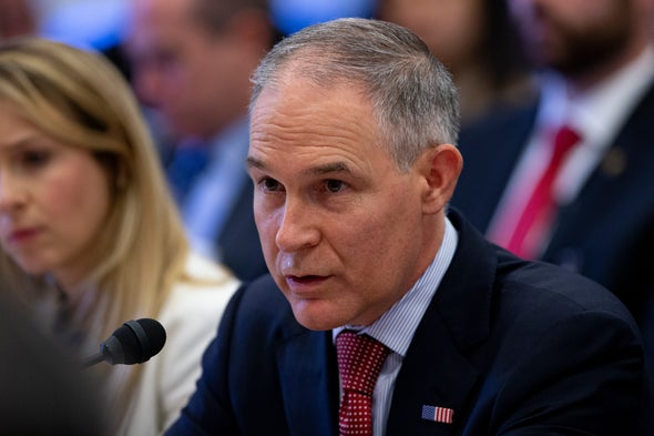 Emails Reveal EPA Approach to Climate Policy under Pruitt's Leadership