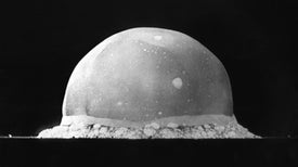 World's First Atomic Blast Tests Theories of Moon's Formation