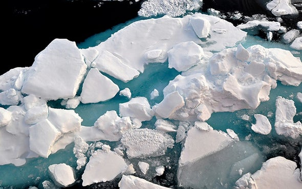 Accelerating Sea Ice Floes Could Spread Pollution Faster