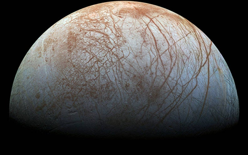 A NASA Spacecraft Might Bounce, Crunch or Sink on Europa