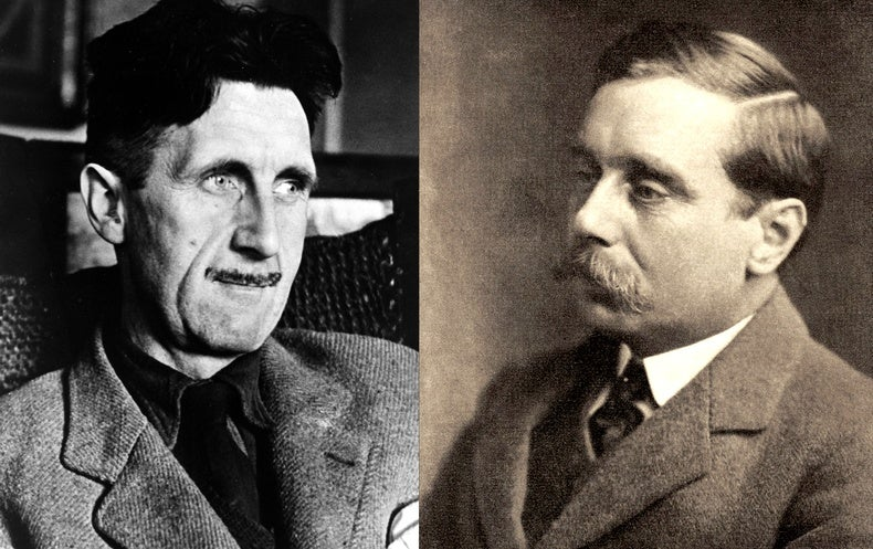 H. G. Wells versus George Orwell: Their Debate Whether Science Is Humanity's Best Hope Continues Today