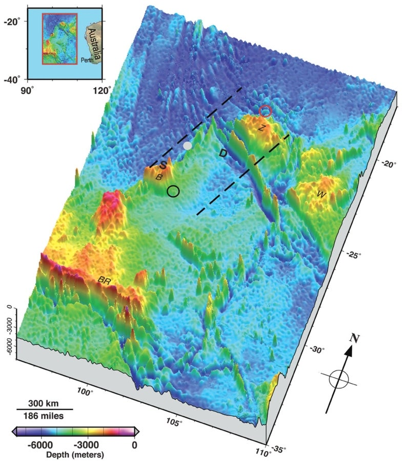 New Map Shows Seafloor Details Where Malaysian Airliner Likely Crashed
