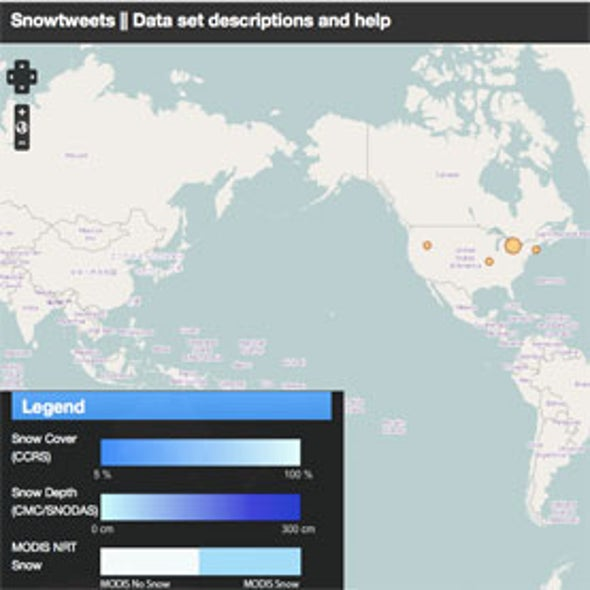 The Snowtweets Project