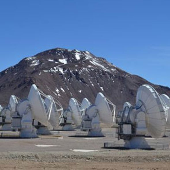 On Firmament Ground: Partially Completed ALMA Radio Telescope Already Generating Discoveries