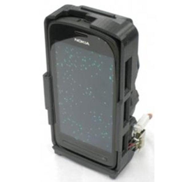 Smartphone-Based Imaging System Spots Nanoscale Objects