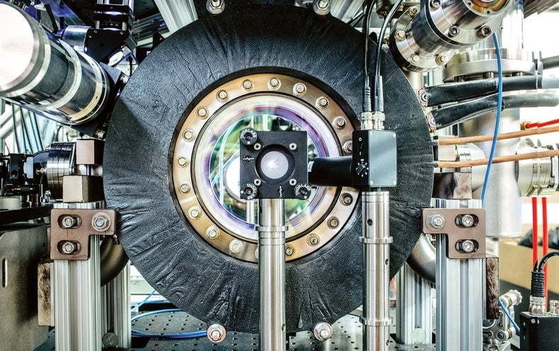 Image of article 'New Instrument Will Stretch Atoms into Giant Waves'