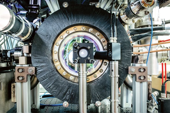 New Instrument Will Stretch Atoms into Giant Waves
