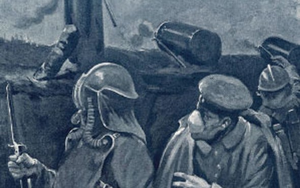 The Horrors of War: <i>Lusitania</i> Sunk; Poison Gas on the Battlefield