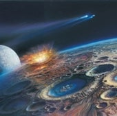 EARLY EARTH: 3.5 to 4 billion years ago
