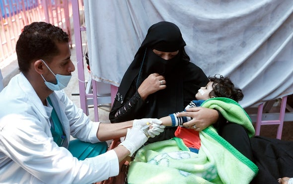 Yemen Records 500,000 Cholera Cases, Nearly 2,000 Deaths