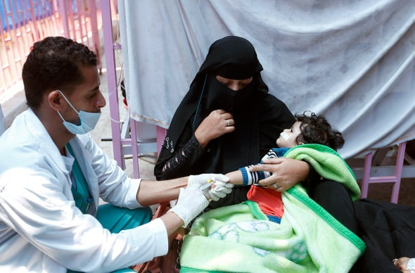 Yemen Records 500,000 Cholera Cases, Nearly 2,000 Deaths