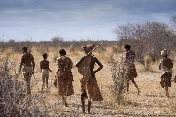 Rare Genetic Sequences Illuminate Early Humans' History in Africa
