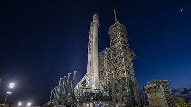 SpaceX Launches Spy Satellite, Sticks the Landing