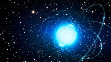 "Mysterious ""Magnetar"" Likely Formed with Help from Runaway Star"