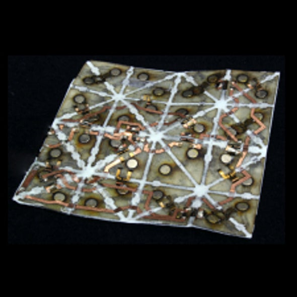 Shifty Science: Programmable Matter Takes Shape with Self-Folding Origami Sheets