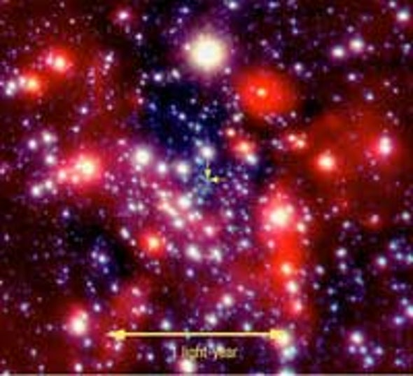 Star Clinches Case for Milky Way's Supermassive Black Hole