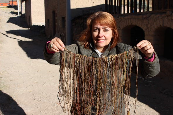 Unraveling an Ancient Code Written in Strings