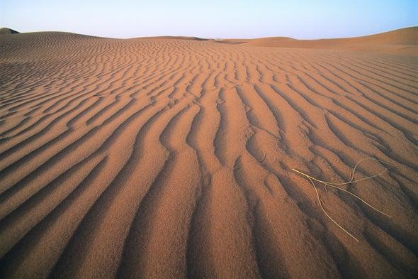Sahara Reveals Remains of Ancient River