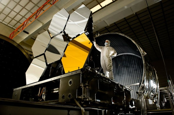NASA Assures Skeptical Congress That the James Webb Telescope Is on Track