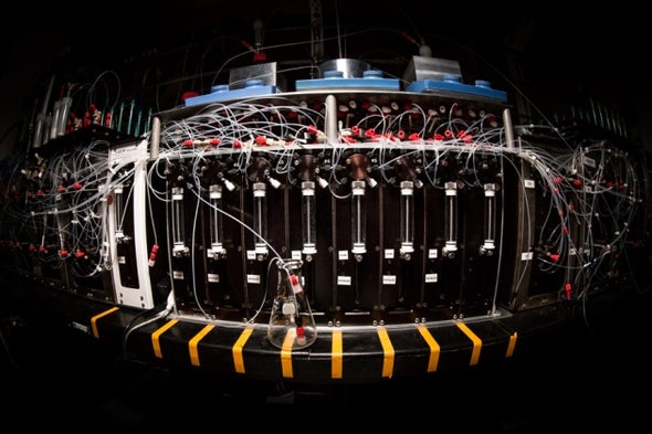 Machine Stitches Complex Molecules at Touch of a Button