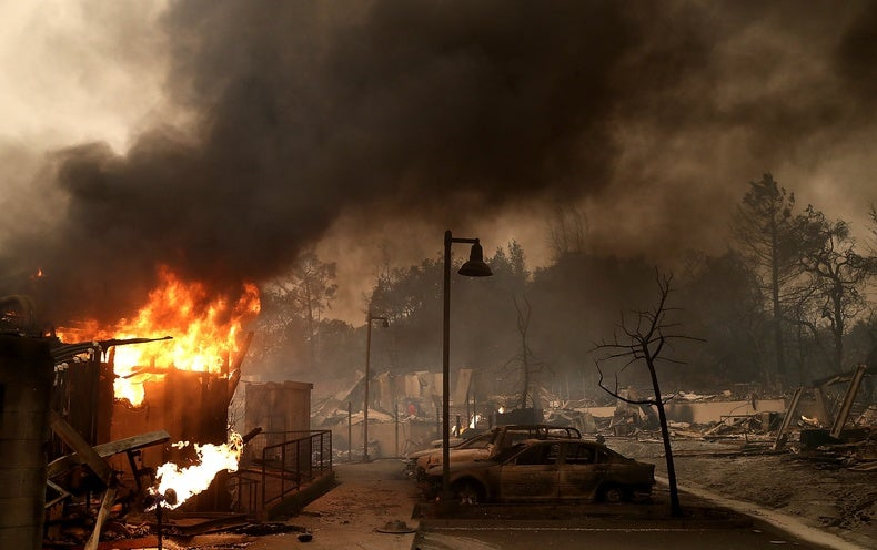 Smoke from Deadly California Wildfires Could Damage Wine Crops
