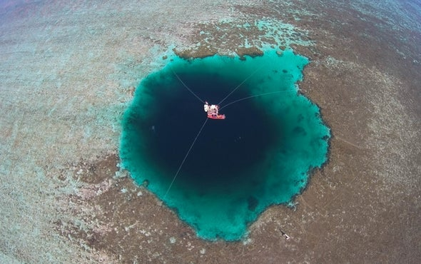 South China Sea Blue Hole Could Be World's Deepest