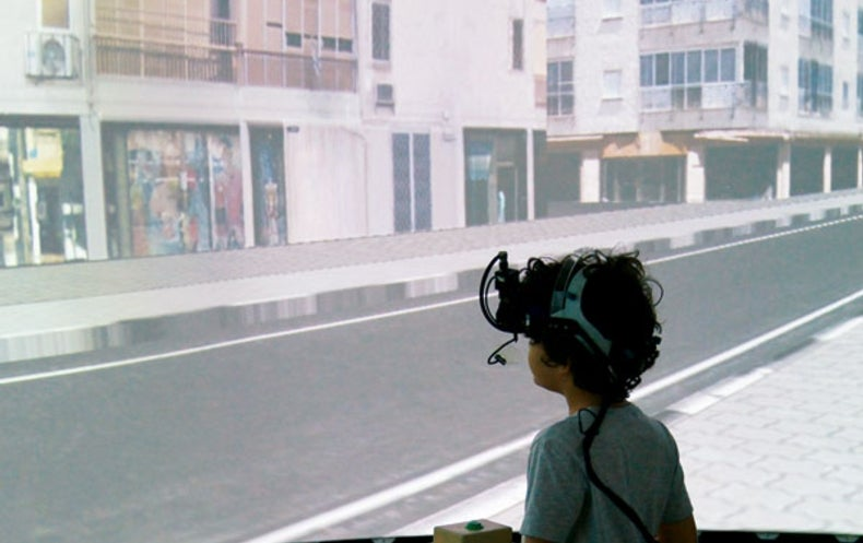 In Israel Kids Cross Streets in Virtual Reality for Safety Science