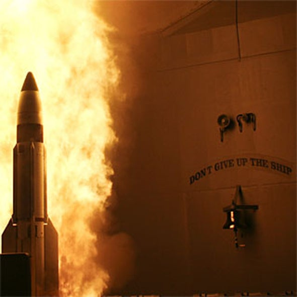 Navy Shoots Satellite [Slideshow]