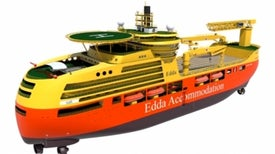 Self-Stabilizing Ship to Keep Oil Rig Workers on Even Keel