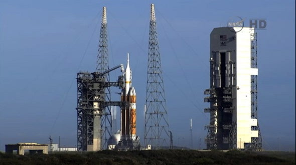 Launch of Deep-Space Capsule for Astronauts Is Delayed by Rocket Glitch