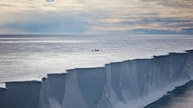 Diving Scientists Report Big Changes beneath Antarctic Ice Shelf