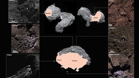 Signs of Water Ice Detected on Comet Surface
