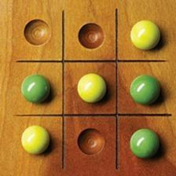 Problem Solved, LOL: A Complex Tic-Tac-Toe Puzzle Falls Thanks to Blog Comments